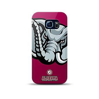 Mizco NCAA oversized TPU Case voor Galaxy S6 Edge (Alabama Crimson Tide)