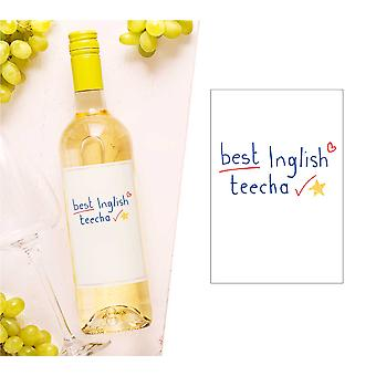 Meilleur Label inglish Teecha Wine Bottle