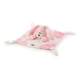 Trudi Cremino pink kanin Doudou 26 x 26 Cm