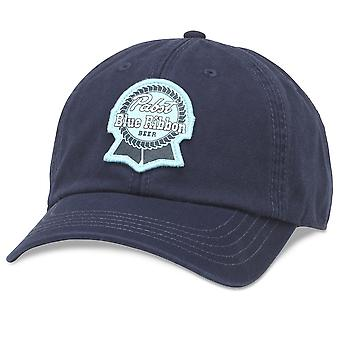 Pabst sininen nauha sininen sininen säädettävä Strapback hattu