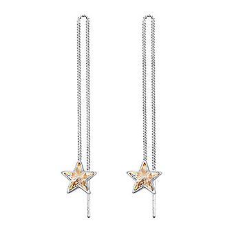 Elli Silver Women's Fabric Earrings - 0306160418