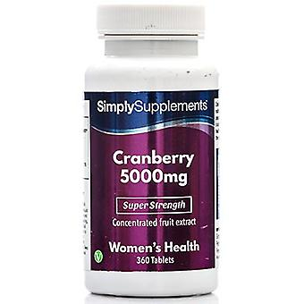 Cranberry-5000mg - 120 Tablets