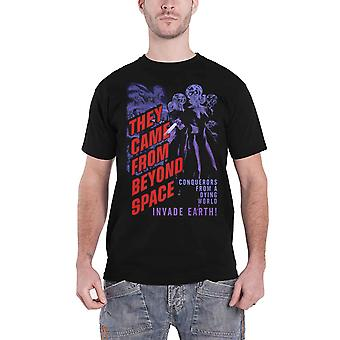 They Came From Beyond Space T Shirt Vintage Movie new Official Mens Black