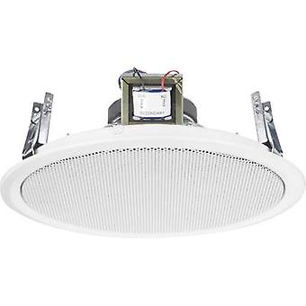 Monacor EDL-10TW PA recessed speaker 10 W 100 V White 1 pc(s)