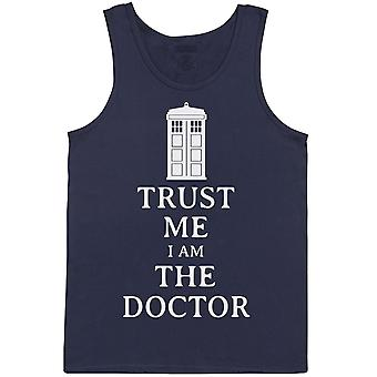 Trust Me I Am The Doctor - Mens Weste