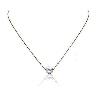 Luna-Pearls Pearl Necklace Akoyaperle 8.5-9 mm 750 Yellow Gold 3001244