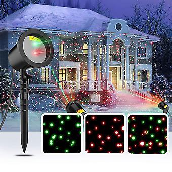 Modern Home Laser Light Projector - 3D Holographic Christmas Light Show
