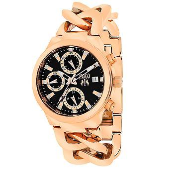 Jivago Women's Levley Black Dial Watch - JV1243
