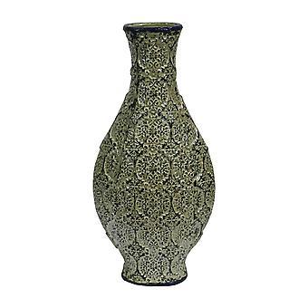 Elegant Green Ceramic Vase