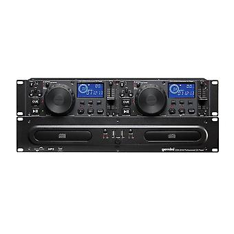 Gemini Cdx-2250i Dual Cd Player With Usb