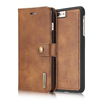 Case For IPhone 8 Plus/7 Plus Wallet With Coque Liked Brown