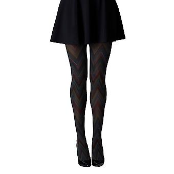 Gipsy Psychedelic Cheveron Patterned Tights