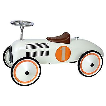 Retro roller - white classic racer - judy
