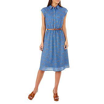 Sugarhill Boutique Women's Charlie Folk Bird Midi Dress