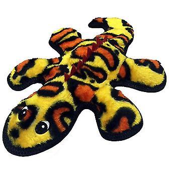 "PetLou Re-Gekko Durable Squeeze Me Soft Squeaker Interactive Dog Chew Toy 13"""