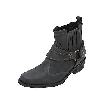 Mustang 4116-501 Men's Boots Grey Lace Boots Boots Winter