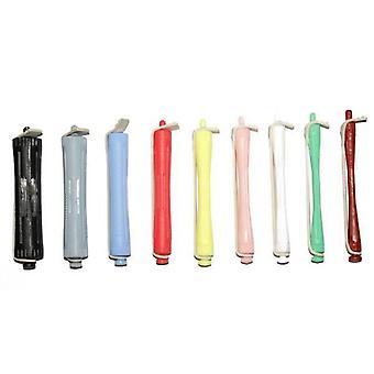 Hår verktøy perm stenger-grå x12