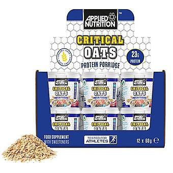 Applied Nutrition Critical Oats Protein Porridge 12 x 60 gr