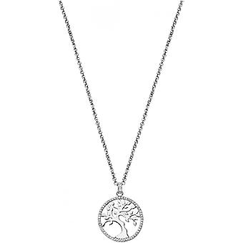 Necklace and pendant Lotus Silver TREE OF LIFE LP1778-1-1 - necklace and pendant TREE OF LIFE money woman