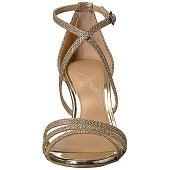 Jewel Badgley Mischka Women-apos;s Hunt Sandal, Or, 10 Moyen US
