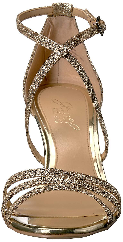 Jewel Badgley Mischka kobiety ' s polowanie sandał, złoto, 10 średnich USA dIrdN