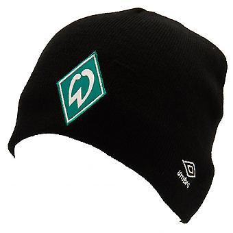 SV Werder Bremen Adults Unisex Umbro Knitted Hat