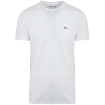 Lacoste Lacoste White Round Neck T-Shirt