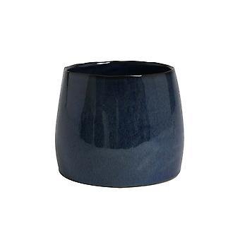 Light & Living Vase 19.5x16.5cm Lordosa Blue