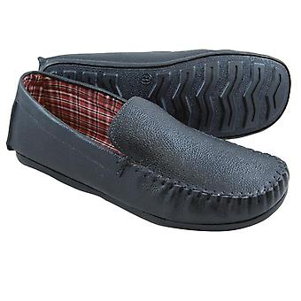 Gent's Leather Moccasins