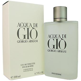 Acqua di gio for menn av giorgio armani 6,7 oz eau de toilette spray