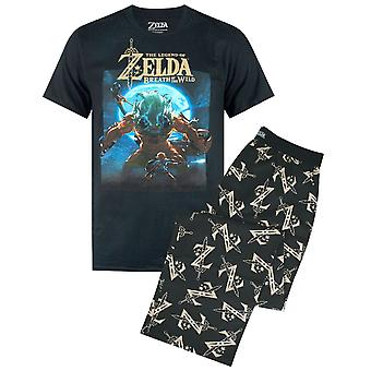 The Legend Of Zelda Moonlight Mens T-shirt en Lounge Pants Pyjama Set