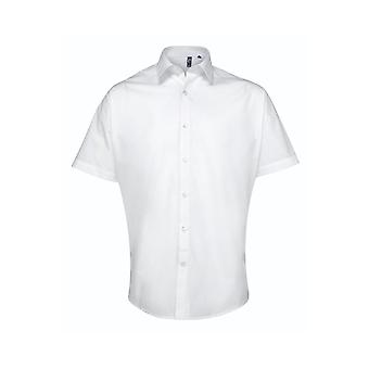 Premier supreme poplin short sleeve shirt pr209