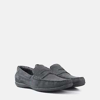 Arise grey suede loafer