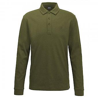 Hugo Boss Pickell 12 Vanlig Langermet Jersey Polo Grønn 342 50424284