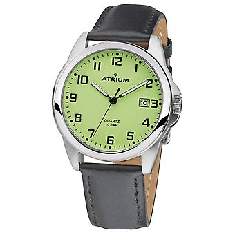 ATRIUM Men's Watch Wristwatch Analog Quartz A16-12 Leather