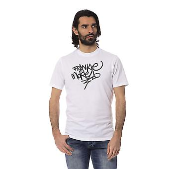 Camiseta branca frankie morello men manga curta