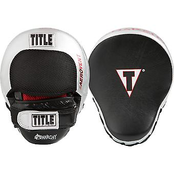 Title Boxing Aerovent Anarchy Punch Mitts - Black/Silver