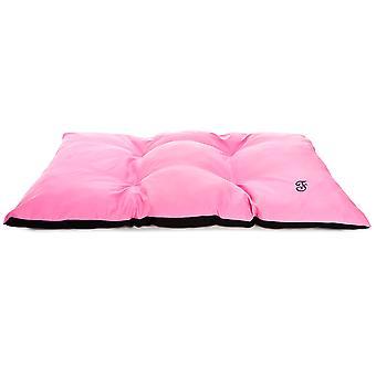 Ferribiella Zweifarbiges Kissen 65X45Cm Pink-Schwarz (Katzen , Erholung , Betten)