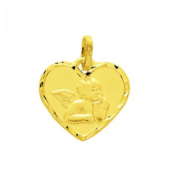 M daille daille gold 375/1000 yellow (9K) pendant