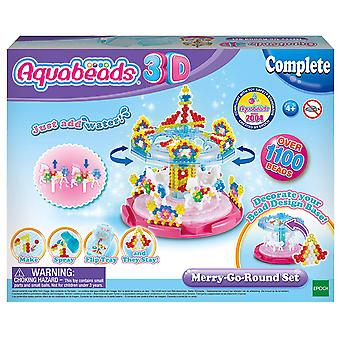 Aquabeads 31364 31364-3D Carousel Craft Kit