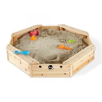 Plum Treasure Beach Wooden Sand Pit and Cover