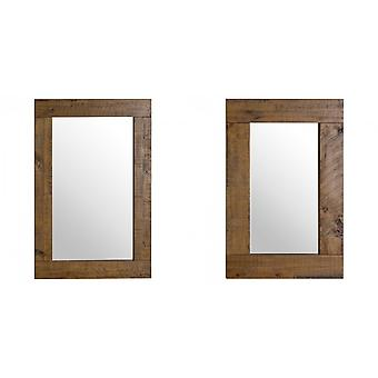 Hill Interiors Deanery Collection Plank Mirror