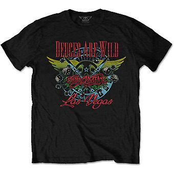 Aerosmith Deuces er vilde officielle Tee T-shirt Herre Unisex