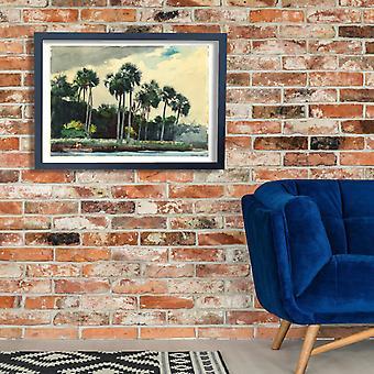Winslow Homer - Red Shirt Homosassa Florida Poster Print Giclee