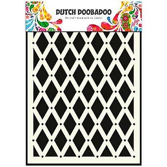 Nederlandsk Doobadoo nederlandsk maske kunst sjablong diamant A5 470.715.018