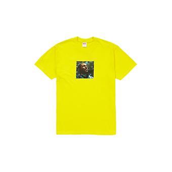 Supreme Marvin Gaye Tee Gelb - Kleidung