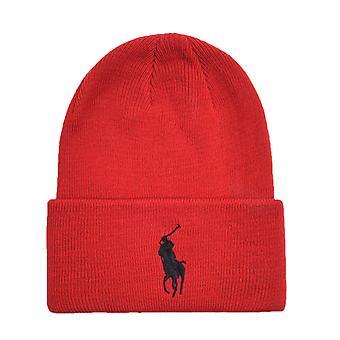 Big Pony Red Logo Beanie