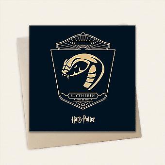 Cardology Harry Potter House Slytherin Greeting Card