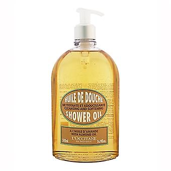 L'Occitane Cleansing And Softening Shower Oil With Almond Oil 16.9oz / 500ml