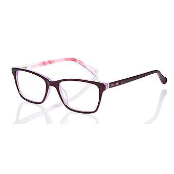 Ted Baker Thea TB9141 763 Fioletowo-różowe okulary